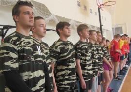 Команда Профильных классов УФСБ, обучающихся в ТЭЮИ приняла участие в чемпионате по волейболу
